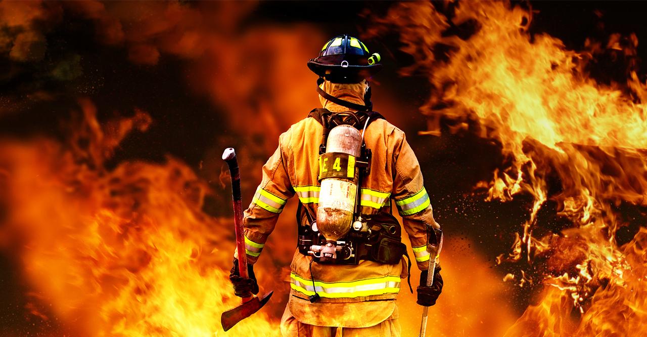 Campanha de EPI's para incêndios florestais.